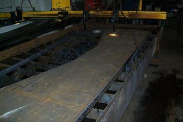 Plate Cutting for New Lifting Beams