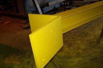 Structure d'acier anti-déversement pour cabine opération