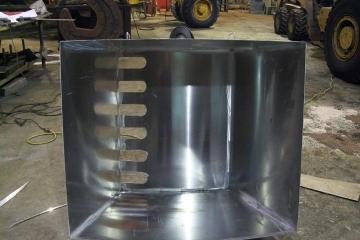 Gabarit pour tuyère réacteur
